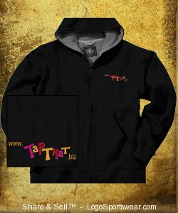 Thermal Lined Zip Hoodie Design Zoom